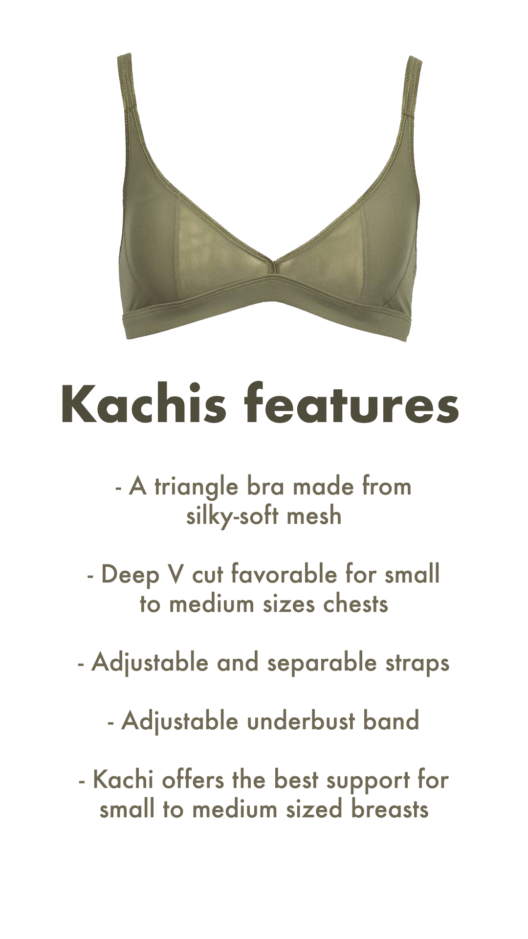 3 Kachis features